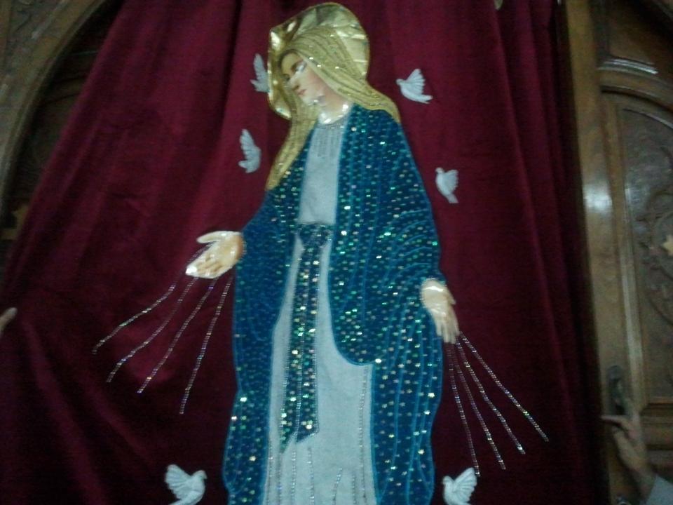Virgin Mary, by Sister Amina