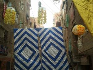 banner/street barricade